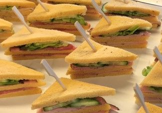 mini sandwich vlees